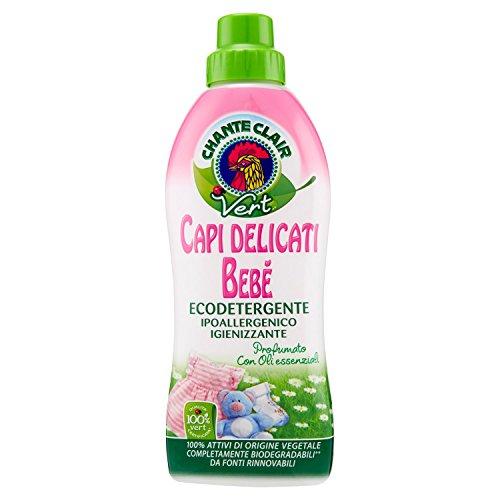 Chanteclair Capi Delicati Bebè Ecodetergente - 4 pezzi da 750 ml [3 l]