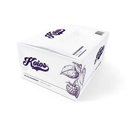 Koios Supplemental Beverage - Black Raspberry, 12 Fl Oz (Pack of 12)