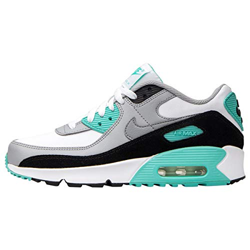 Nike Unisex Air Max 90 Ltr Laufschuh, White Particle Grey Light Smoke Grey Hyper, 40 EU