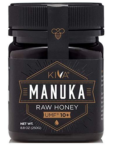 Kiva Raw Manuka Honey, Certified UMF 10+ (MGO 263+) - New Zealand (8.8 oz)