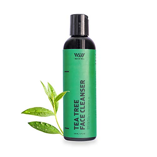 Tea Tree Face Cleanser, Moisturizing Face Wash for Women and Men, Soothes Skin, Gentle Face Cleanser with Tea Tree Essential Oil, Sulfate and Paraben Free, 120 mL - Way of Will