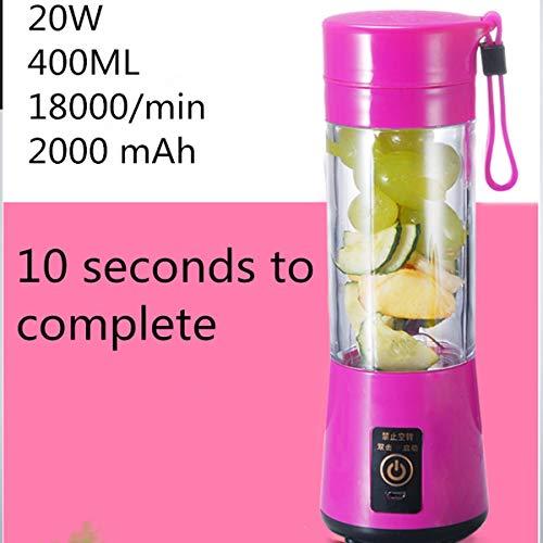 No Brand Mini elektrisch draagbaar klein whirlpool sap cup multifunctioneel sap cup mini versie fruit juicer keukengerei