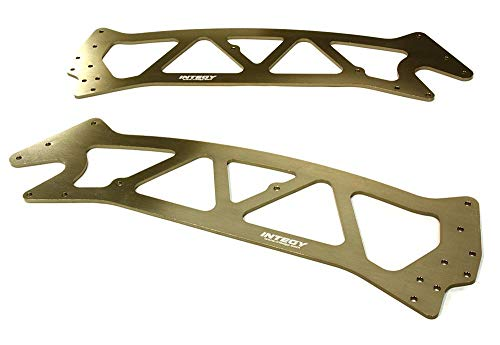 Integy RC Model Hop-ups C26495GREY Billet Machined Chassis Plate for HPI Jumpshot MT
