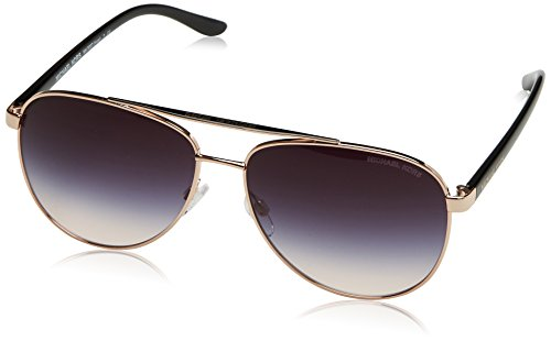 Michael Kors Hvar 109936 59 Occhiali da Sole, Oro (Rose Gold/Greyrosegradient), Donna