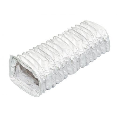 PVC Flachkanal 75 x 150 mm Flexrohr Flex Flexibler Flach Rohr 1 m Meter Länge Flexschlauch Schlauch Abzug