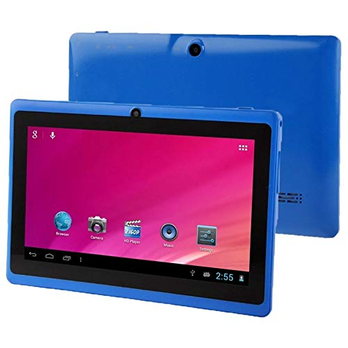 SHISHUFEN Tablet PC 7.0 Pulgadas 1GB + 16GB Android 4.0, Allwinner A33 Quad Core 1.5GHz, WiFi, Bluetooth, OTG, G -Sensor