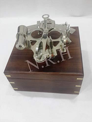 Nautisch Vintage Navigation Marine Sextant mit Holzbox