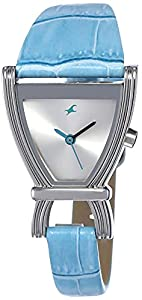 Fastrack Fits & Forms Analog Silver Dial Men's Watch NM6095SL01/NN6095SL01