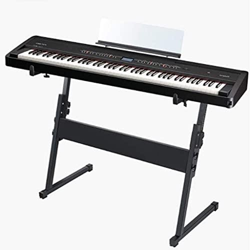 YAMAXUN Soporte para Instrumentos Musicales Z-Stage, Soporte para Piano Electrónico para El Aula De Música Escolar, Soporte para Piano Eléctrico Universal De 54 Teclas Y 61 Teclas