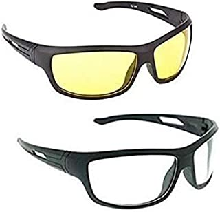 76dd85550 ELLIGATOR Driving at Day and Night Fishing Outdoor Anti Glare Unisex  Sunglasses (64 mm,