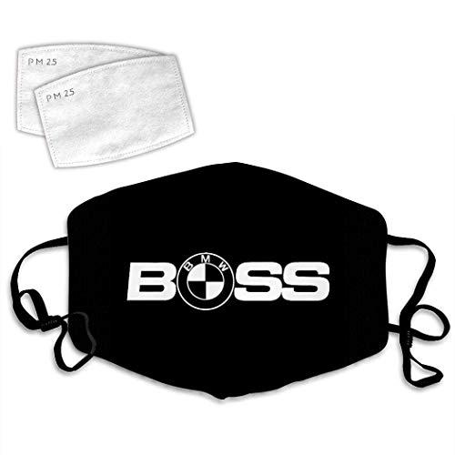 B-m-w Logo 10 Mundschutz, Sturmhaube, Masken, Staubdichter Schal,Gesichtsmaske Bedruckte Staubmaske Schal Turban wiederverwendbar schwarz