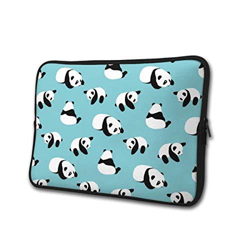 Cartoon Panda 13-15 Inch Laptop/Tablet Sleeve Schokbestendig Neopreen Sleeve Bag voor Notebook Chromebook, Ultrabook, MacBook