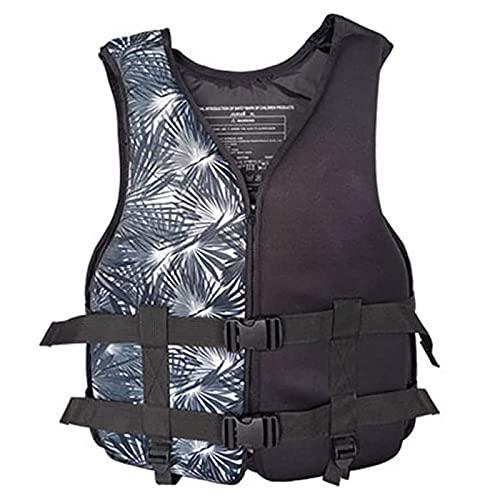 OKUGAIYA Chaleco salvavidas para adultos, chaleco flotante para natación, kayak, remo, pesca, surf, buceo, rafting