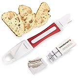 Breadsmart Lame - Herramienta para Escarificar el Pan - Juego de 10 Cuchillas de Acero Inoxidable - Cortador de Masa para Panaderos - Los Mejores Accesorios para Panadería