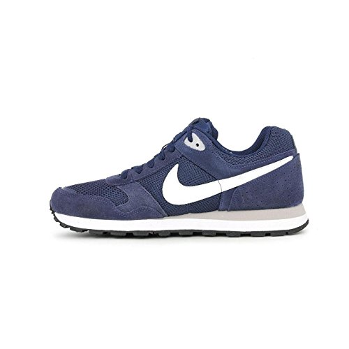 Nike MD RUNNER TXT SP15, Sneaker, Uomo, Blu (Midnight Navy/White-Wolf Grey), 43