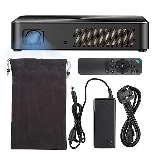 LYJL Dispositivo De Proyector Portable Portable Dlp-j10 Portable Al Aire Libre De 1080p (110-240v Reino Unido)