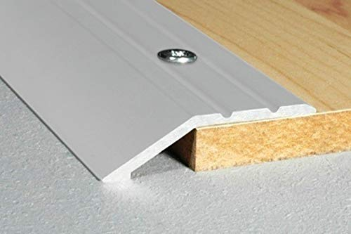 1 Stück | Abschlussleiste | Alu | eloxiert | Effector | 1800x39x8mm | A11 | silber