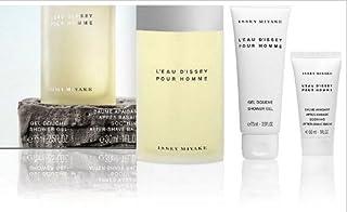 Issey Miyake Gift Set for Men (Eau De Toilette Spray, Shower Gel, After Shave Balm)
