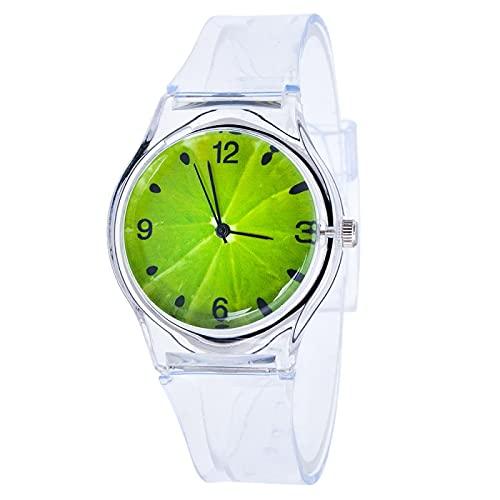 watch Nuevo reloj de cuarzo con flores de marca para mujer, reloj de pulsera resistente al agua, reloj de pulsera de silicona a la moda para niñas, banda ultrafina, reloj Horlog