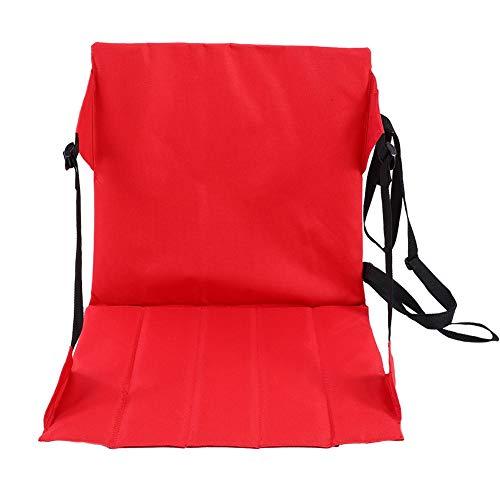 Cloudbox Cojín plegable al aire libre-portátil a prueba de humedad Picnic Mat al aire libre plegable asiento cojín rojo camping playa estadio