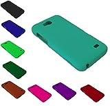 Hard Phone Cover Case for ZTE Overture 2 Fanfare Maven Z810 Z812 Z791 (Dark Green)