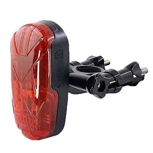 NXX Rastreador GPS Bicicleta GPS Tracker Localizador GPS Bicicleta La Batería De Larga Duración En Tiempo Real Oculta El Rastreador De GPS De La Bicicleta Dispositivos De Seguimiento GPS con Cola LED