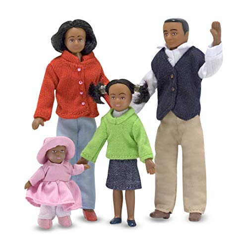 Melissa & Doug Doll Family [African American]