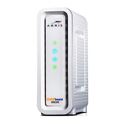 ARRlS Surfboard SB8200 Gigabit Cable Modem Docsis 3.1 Cox, Xfinity, Spectrum and Others (Renewed)