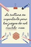 LA EDUCACION ES IMPORTANTE PERO LOS JUEGOS DE ROL...