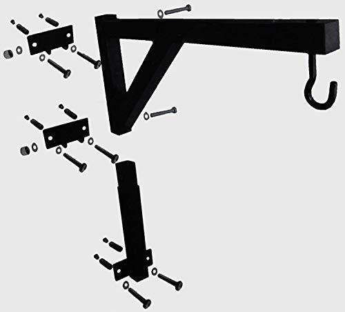 Lisaro Boxsack Wandhalterung (Modell:B) | Boxsackhalterung | Aufhängung für Boxsäcke | Boxsack Halter | Boxen/Kampfsport
