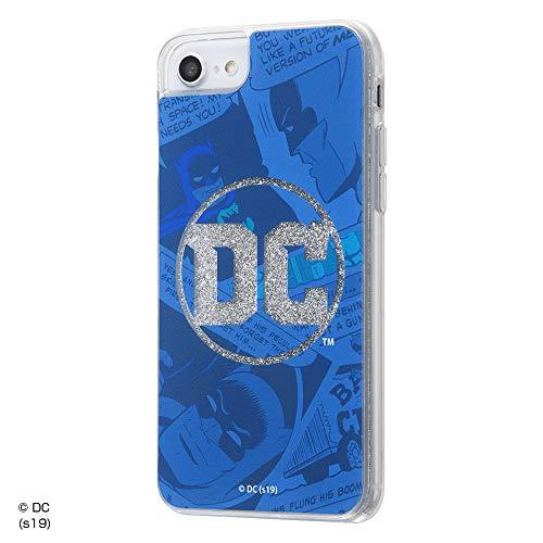 iPhone 8 ケース/iPhone 7 ケース/iPhone 6s ケース/iPhone 6 ケース/バットマン/ラメ グリッターケース/DCロゴ×バットマン_01