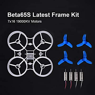 BETAFPV Beta65S 65mm Whoop Frame Kit 3.6g V4 Version with 7x16mm 19000KV Brushed Motors for Tiny Whoop Racing