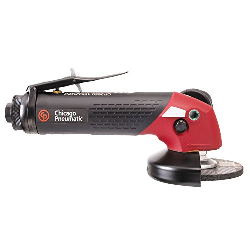 Affordable Chicago Pneumatic 4 in. Angle Wheel Grinder, 13500 rpm, 2.3 hp - CP3650-135AC4FK