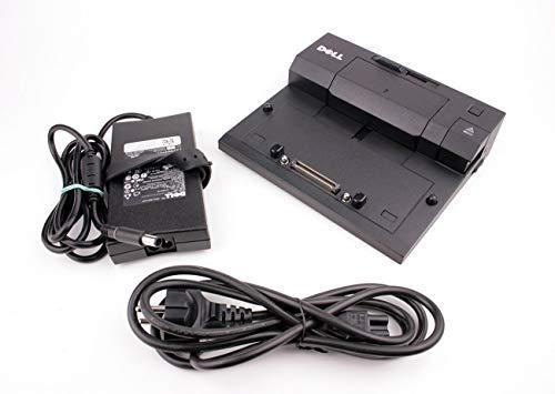 Original Dell E-Port PR03X Dockingstation mit Original Dell 130 W+Stromkabel für Latitude E5430, E5500, E5510 (Generalüberholt)