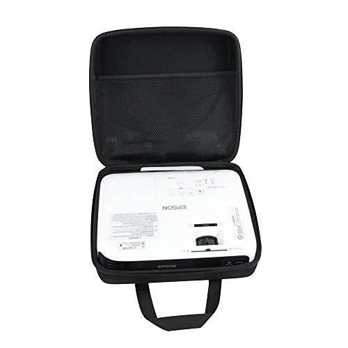 Hermitshell Hard EVA Travel Case Fits Epson Home Cinema 1060 Full HD 1080p / VS240 / VS250 SVGA 3LCD Projector 3100 Lumens
