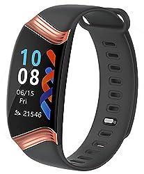 Fitness Tracker Heart Rate Monitor Blood Pressure Sleep Calorie Pedometer Watch Waterproof Activity Tracker for Men Women