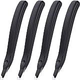 Nubstoer 4 Piezas quitagrapas magnético, Herramienta para Quitar Grapas, Color Negro