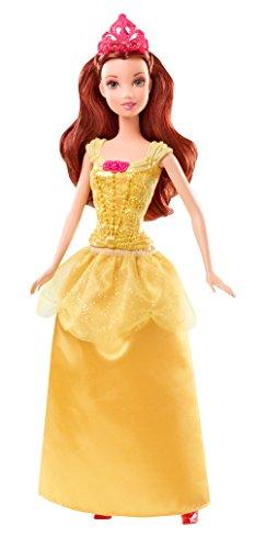 Disney Princesses - BBM23 - Poupée Mannequin - Belle Paillettes