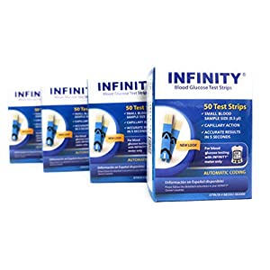 buy Infinity Blood Glucose Test Strips 200 Ct Blood Test Strips