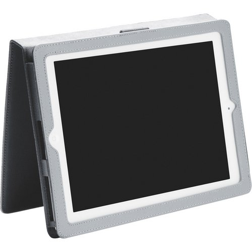 iLuv Ulster Portfolio Case for Apple iPad 4, iPad 3rd Generation and iPad 2 (iCC831GRY)