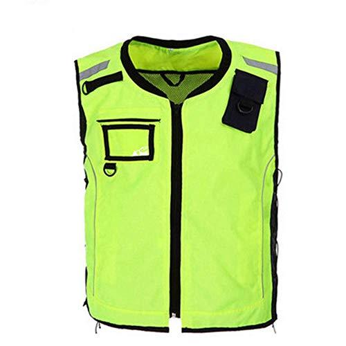 Xiaoyue wasserdichte Regen Jacke, Sicherheits-Reflex-Raincoat mit Kapuze Poncho for Arbeit Im Freien Reflektierende Westen (Größe: S) lalay (Size : Medium)