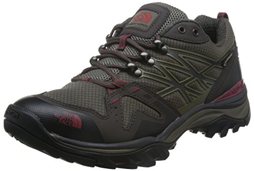 The North Face Men's Hedgehog Fastpack Gtx - Coffee Brown & Rosewood Red - 8.5