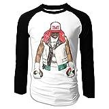 Floyd-Mayweather Logo TMT Men's Long Sleeve Shirts Fitness Tee Tops Cotton Clothes Baseball Tshirts