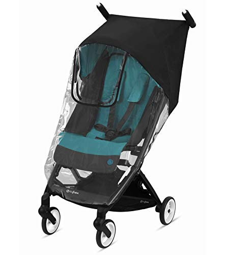 CYBEX Libelle Stroller Rain Cover, Transparent, Stroller Accessory, Baby Travel Weather Shield