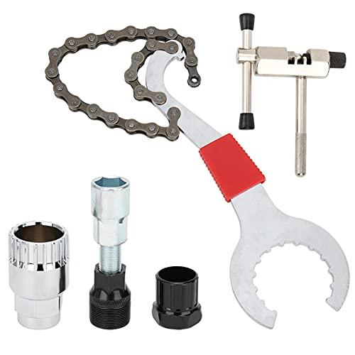 Herramienta para cortar cadenas a prueba de óxido Herramienta para cadenas de bicicletas Multifuncional Conveniente, para mantenimiento de bicicletas, para instalar el pasador de la cadena,