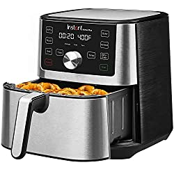 Image of Instant Vortex Plus 6-in-1 Air Fryer, 6 Quart, 6 One-Touch Programs, Air Fry, Roast, Broil, Bake, Reheat, and Dehydrate: Bestviewsreviews
