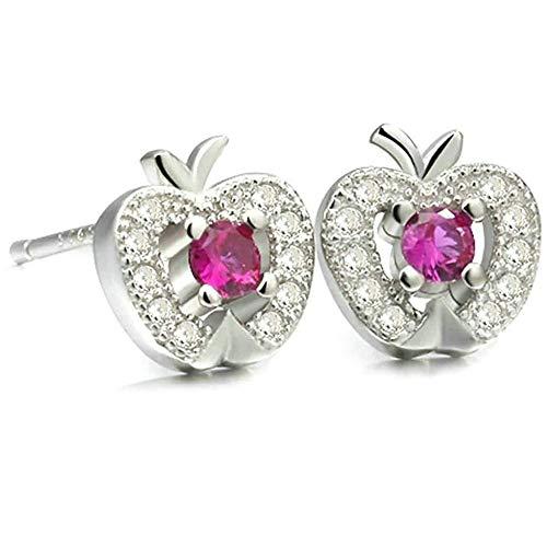 Women Earrings Silver Plated Ear Studs Women's Earrings Novelty Jewelry Earring/Silver Bracelets Earrings Rings Necklaces