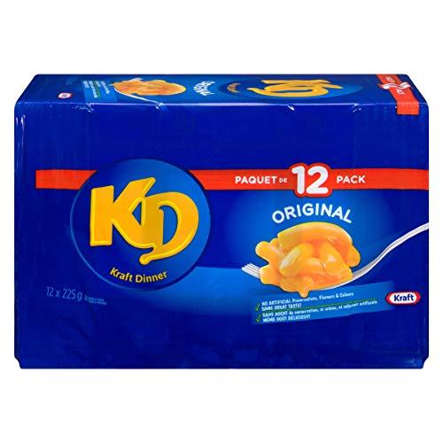 Kraft Dinner Original Macaroni & Cheese, 12 Pack, 2.7KG