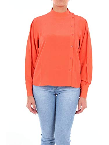 Luxury Fashion | Closed Dames C94836277CORALLO Roze Zijde Blouses | Seizoen Outlet