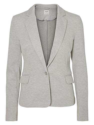 VERO MODA Female Blazer Jersey 38Light Grey Melange
